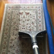 Dirty Vs Clean Side of Rug